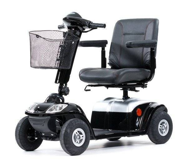 KYMCO Elektromobil Spiekeroog schwarz 360 Grad Anischt, schwarz