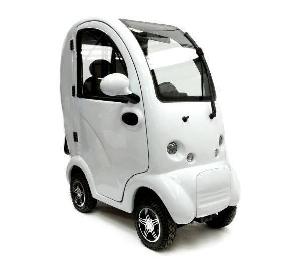 SCOOTERPAC Elektromobil Santorin weiß im rehashop kaufen